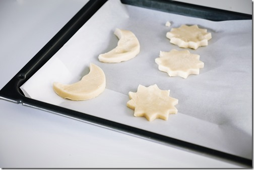 PrÈparation de shortbread